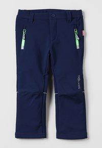 TrollKids - KIDS FJELL PANT - Długie spodnie trekkingowe - navy - 0