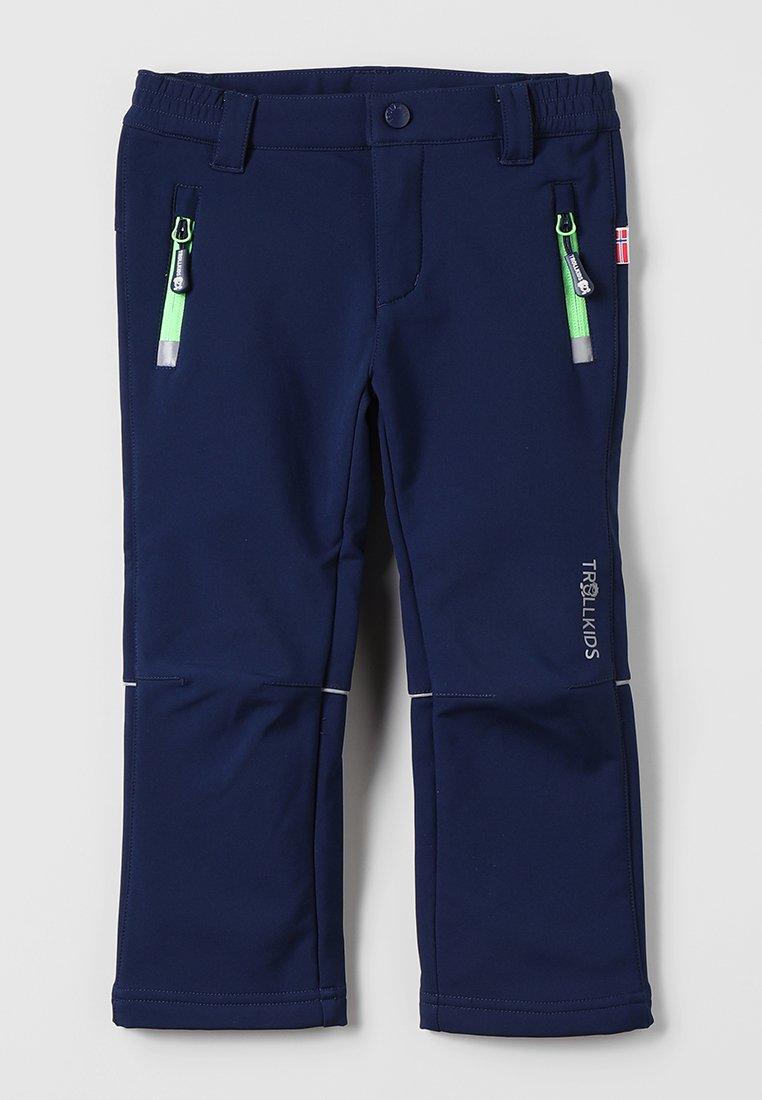 TrollKids - KIDS FJELL PANT - Długie spodnie trekkingowe - navy