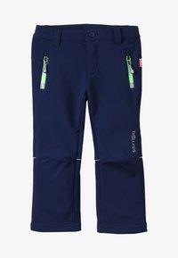 TrollKids - KIDS FJELL PANT - Długie spodnie trekkingowe - navy - 4