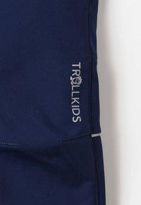 TrollKids - KIDS FJELL PANT - Długie spodnie trekkingowe - navy - 5