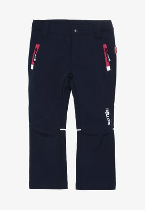 KIDS FJELL PANT - Outdoor trousers - navy/magenta