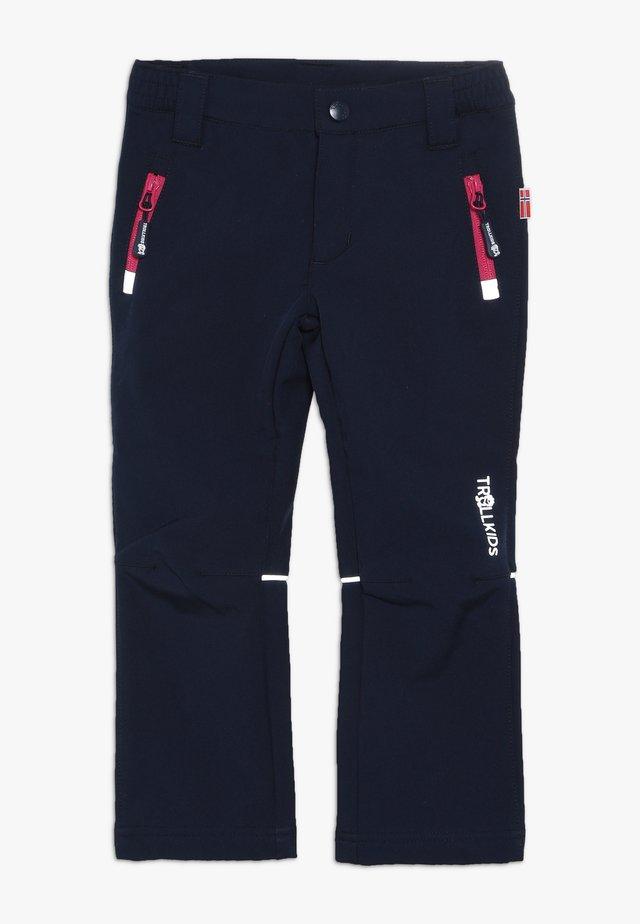 KIDS FJELL PANT - Outdoorbroeken - navy/magenta