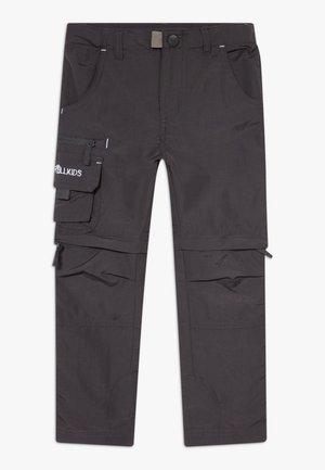 KIDS OPPLAND  - Długie spodnie trekkingowe - dark grey