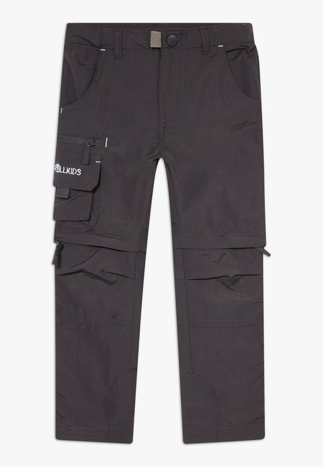 KIDS OPPLAND  - Pantaloni outdoor - dark grey