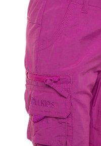 TrollKids - KIDS OPPLAND  - Outdoorové kalhoty - berry - 3