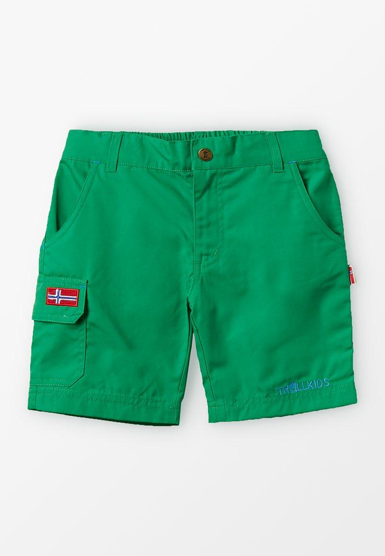 TrollKids - SANDEFJORD  - Pantalones montañeros cortos - india green