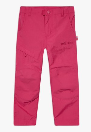 KIDS HAMMERFEST PRO SLIM FIT - Trousers - rubine red