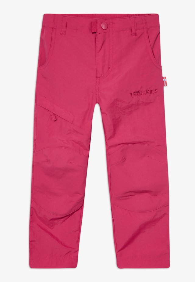 KIDS HAMMERFEST PRO SLIM FIT - Tygbyxor - rubine red