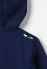 TrollKids - KIDS TROLLFJORD JACKET - Chaqueta softshell - navy/light green - 6
