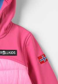 TrollKids - LYSEFJORD JACKET - Chaqueta outdoor - raspberry - 3
