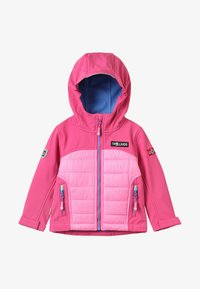 TrollKids - LYSEFJORD JACKET - Chaqueta outdoor - raspberry - 5
