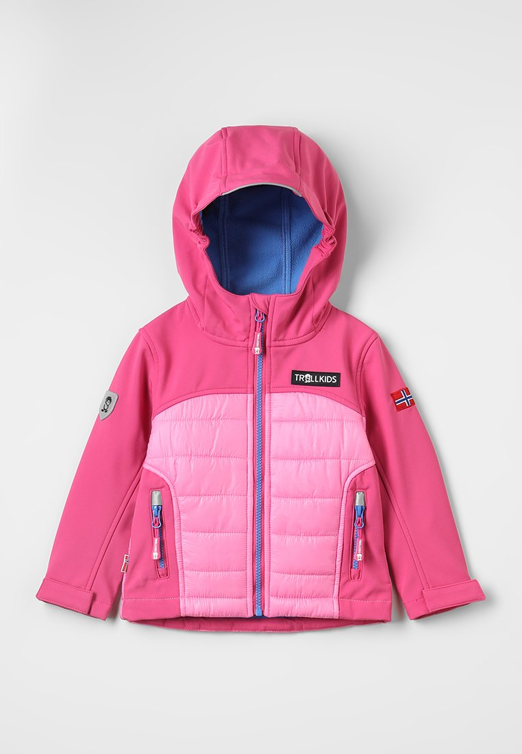 TrollKids - LYSEFJORD JACKET - Chaqueta outdoor - raspberry