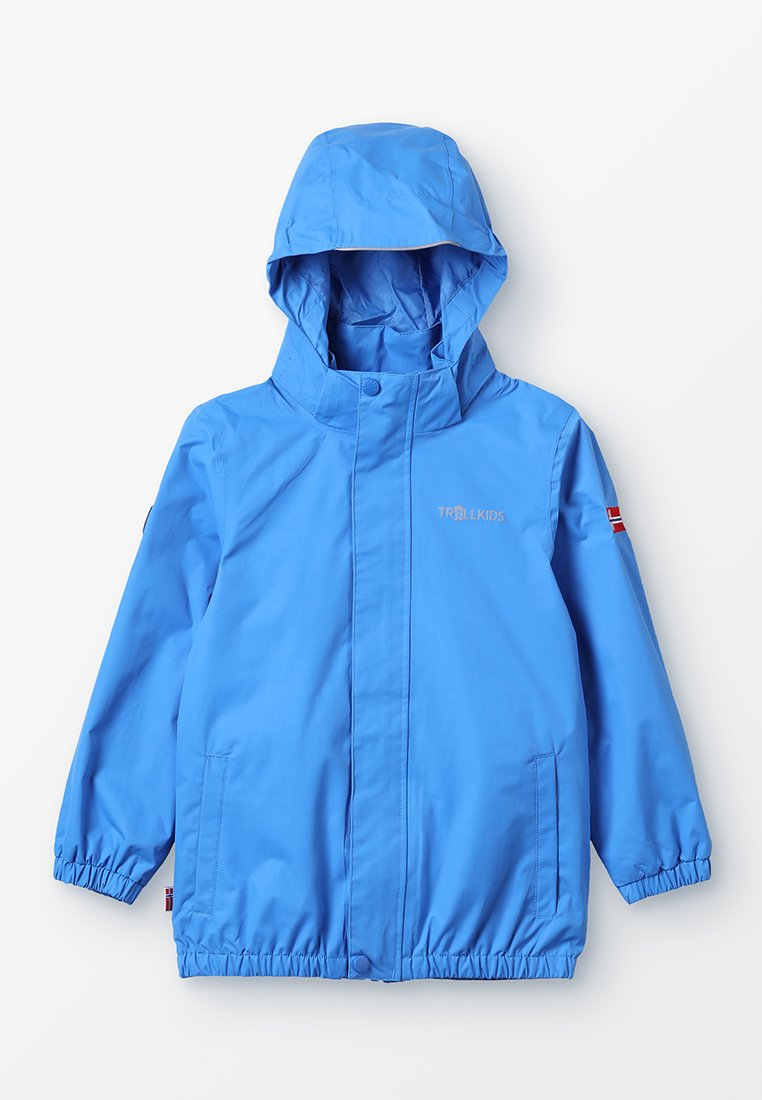 TrollKids - KIDS ODDA JACKET - Giacca hard shell - med blue