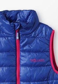 TrollKids - KIDS TRONDHEIM VEST - Chaleco - dark blue/magenta - 4
