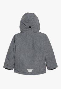 TrollKids - GIRLS HOVDEN JACKET - Lyžařská bunda - grey melange/magenta - 1