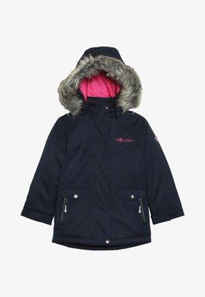 GIRLS OSLO COAT  - Winter jacket - navy/magenta