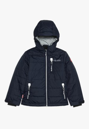 KIDS HEMSEDAL SNOW JACKET - Light jacket - navy/silver grey