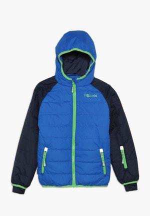 KIDS HAFJELL SNOW JACKET  - Ski jacket - navy/med blue/green
