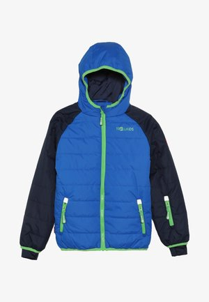 KIDS HAFJELL SNOW JACKET  - Kurtka narciarska - navy/med blue/green