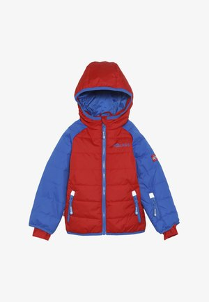 KIDS HAFJELL SNOW JACKET  - Giacca da sci - medium blue/red