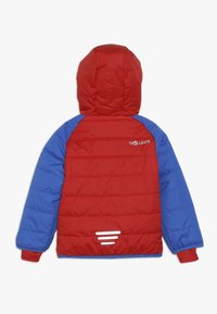 TrollKids - KIDS HAFJELL SNOW JACKET  - Lyžařská bunda - medium blue/red - 1