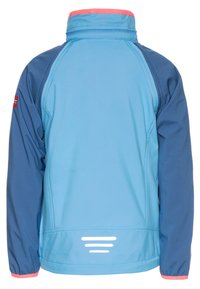 TrollKids - KIDS RONDANE ZIP OFF 2-IN-1 - Softshellová bunda - midnight blue/cerulean/coral - 2