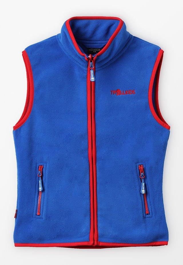 KIDS ARENDAL VEST - Bodywarmer - med blue/red