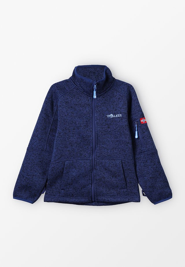 JONDALEN JACKET - Fleecetakki - french blue