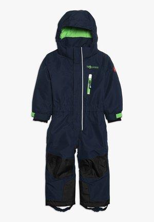 KIDS ISFJORD SNOWSUIT - Mono para la nieve - navy/green