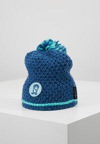 TrollKids - GIRLS HEMSEDAL BOBBLE CAP - Berretto - midnight blue/dark mint - 1