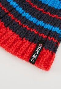 TrollKids - KIDS HAFJELL BOBBLE - Berretto - navy/med blue/red