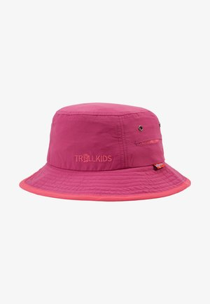 KIDS TROLLFJORD HAT - Klobouk - dark rose/magenta