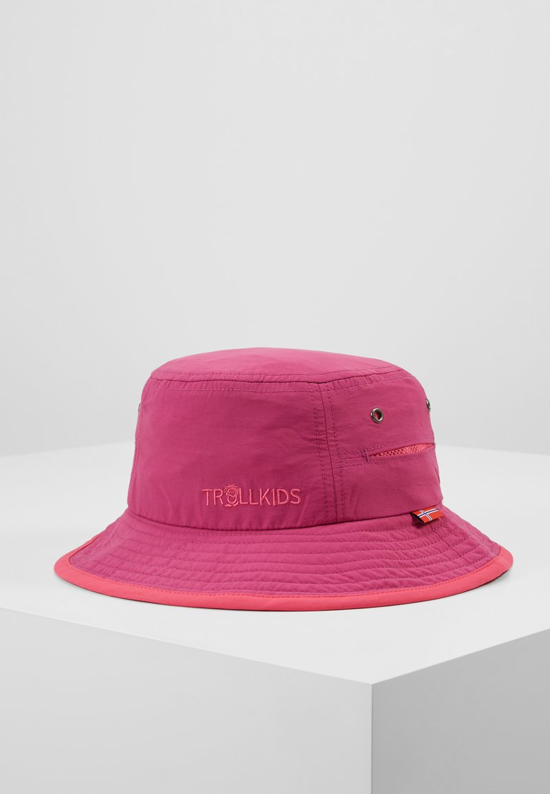 TrollKids - KIDS TROLLFJORD HAT - Sombrero - dark rose/magenta