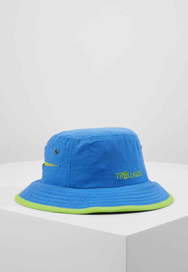 KIDS TROLLFJORD HAT - Hat - medium blue/light green