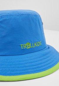 TrollKids - KIDS TROLLFJORD HAT - Sombrero - medium blue/light green - 2
