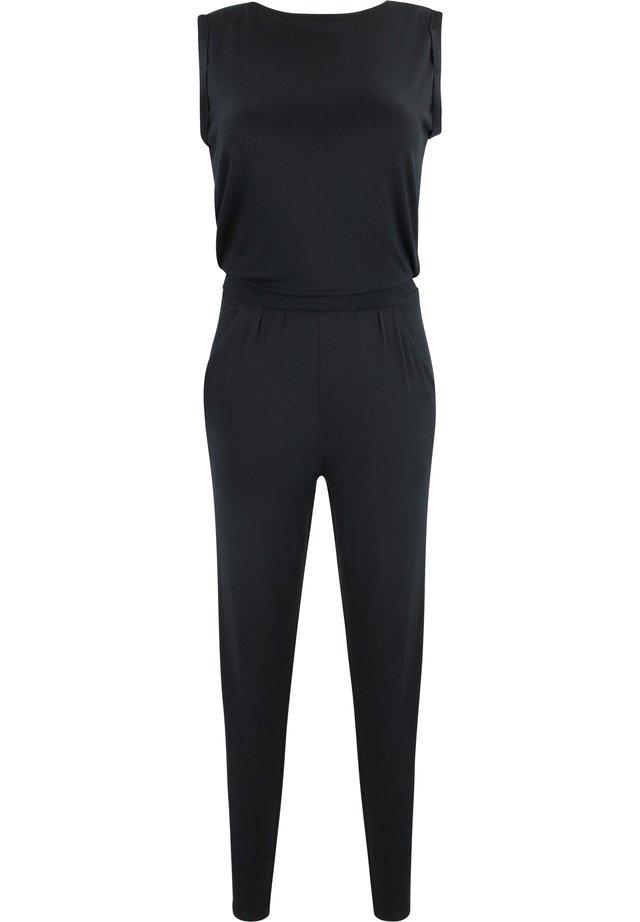 MIT RÜCKEN-V-AUSSCHNITT - Jumpsuit - 2999-black