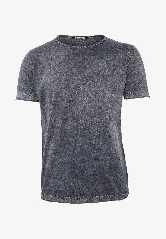 HALVAR - Basic T-shirt - dark grey
