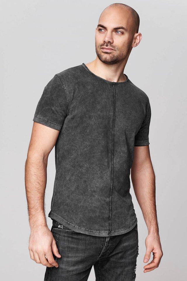 JENSON - Print T-shirt - anthracite