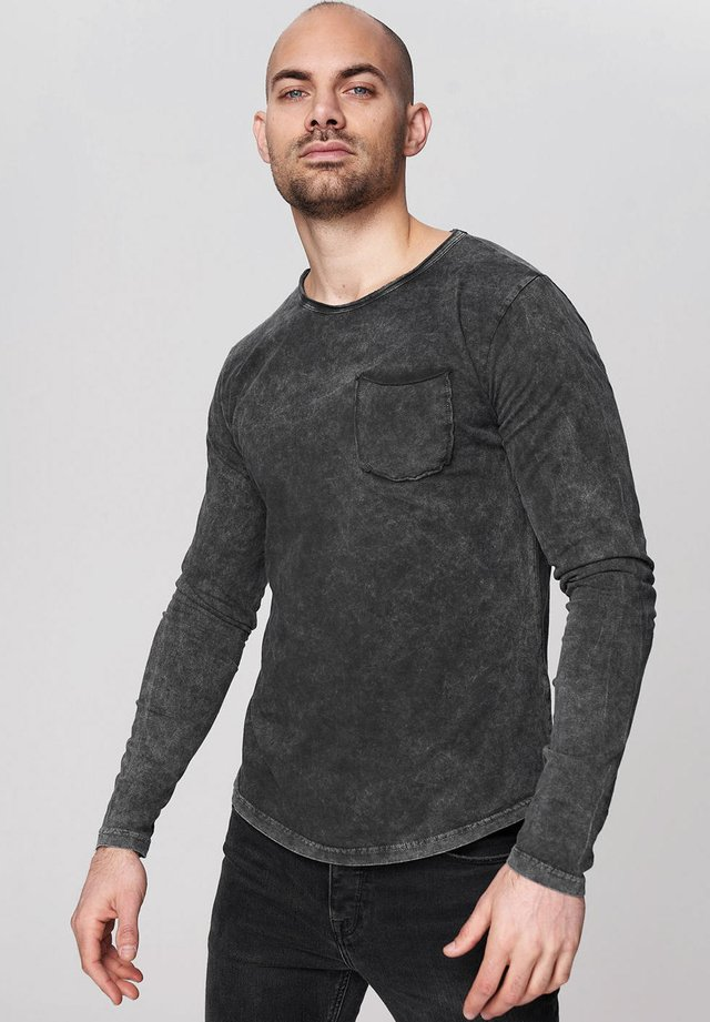 LONG SLEEVE - Long sleeved top - 0403-anthracite