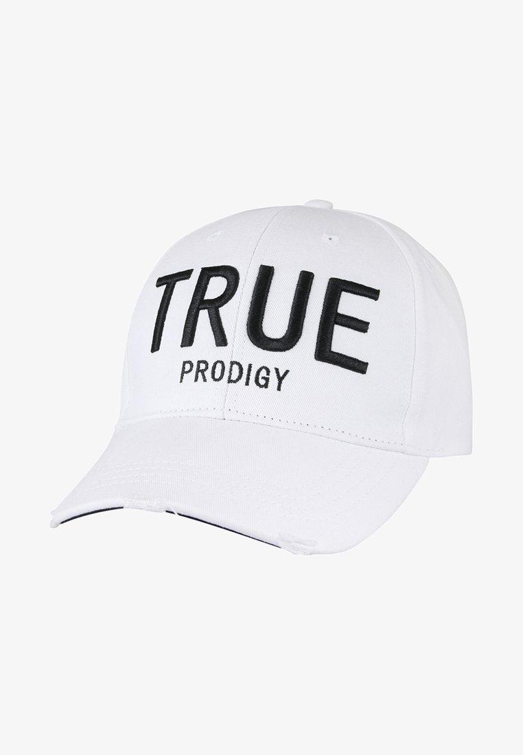 Trueprodigy - MIT MARKENSCHRIFTZUG - Cap - white