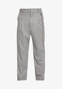 The Ragged Priest - TWEED TROUSERS WITH CHAIN - Pantalon classique - tan/grey - 4