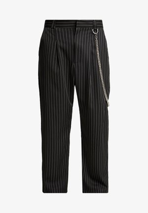 TROUSERS IN BIRGHT  - Bukse - black