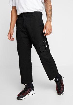 COMBATS - Pantaloni cargo - black