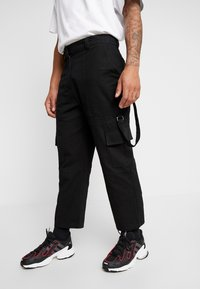 The Ragged Priest - COMBATS - Pantalon cargo - black - 3