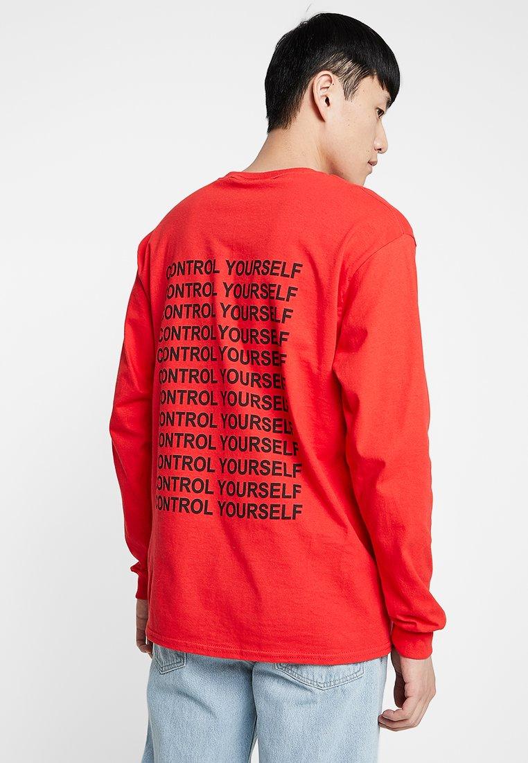 The Ragged Priest - CONTROL TEE - Longsleeve - red