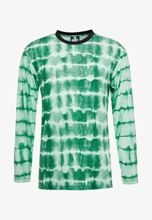 IN TYE DYE - Långärmad tröja - green tye dye