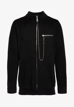 ZIP UP - Strikjakke /Cardigans - black