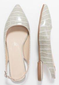 Trendyol - Slingback ballet pumps - gray - 3
