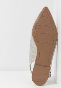 Trendyol - Slingback ballet pumps - gray - 6