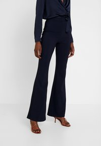 Trendyol - LACIVERT - Trousers - navy - 0